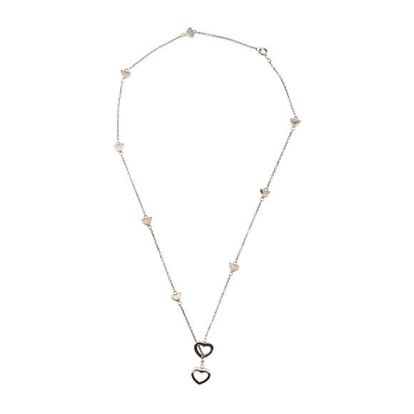 a9054629127 Authentic Tiffany & Co. Heart Link Lariat Necklace.  M_5b04778f1dffda9f78e327ba